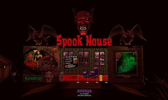 Horror Games: Sinatra's Spook House on Second Life 1