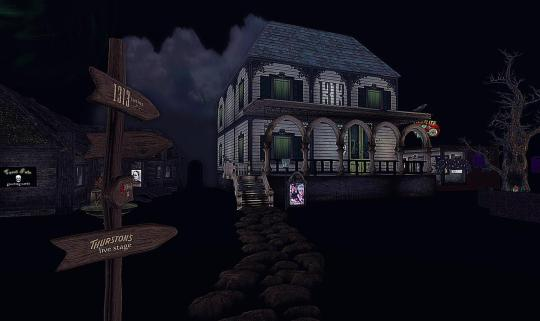 Horror Games: Second Life's Spook House 3