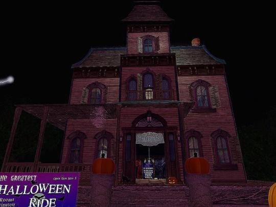 Horror Games: Second Life's The Greatest Halloween Ride in The World EVER! 1