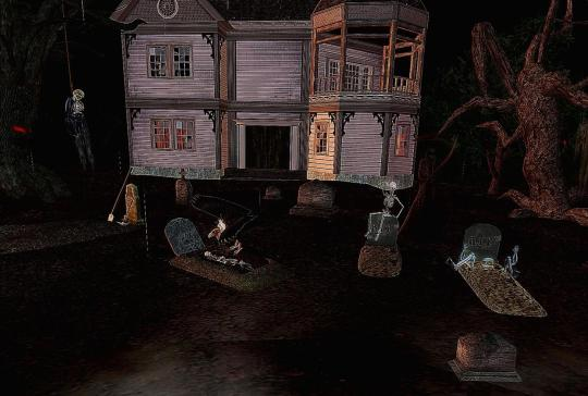 Horror Games: Second Life's The Greatest Halloween Ride in The World EVER! 2