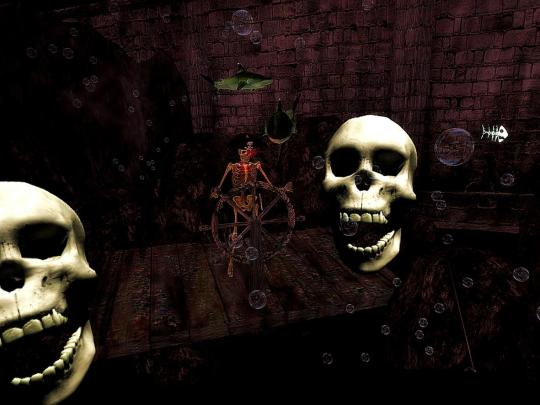 Horror Games: Second Life's The Greatest Halloween Ride in The World EVER! 4