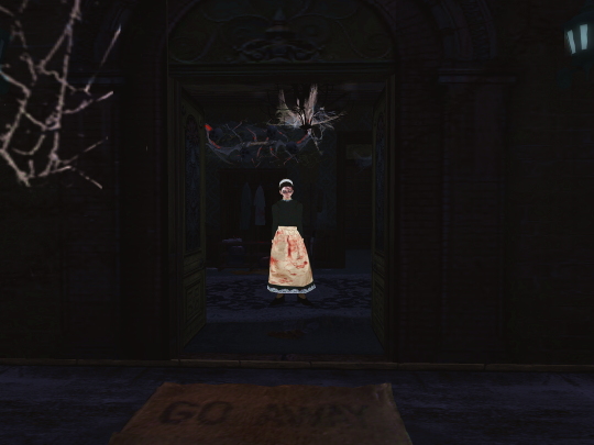 Horror Games: Second Life's DarkDharma's Hunted Manor 1