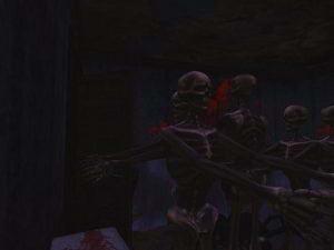 skeleton's dispensing cabinet