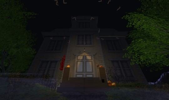 Horror Games: Second Life's Spooky Interactive Haunted House 1