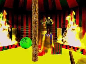 Horror Games: Second Life's Crazy Clowns Funhouse 3