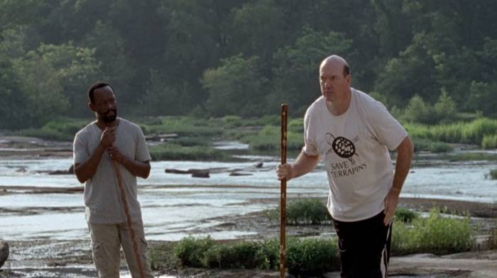 the walking dead - morgan and eastman