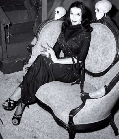 Vampira pic from VAMPIRA GODDESS OF HORROR