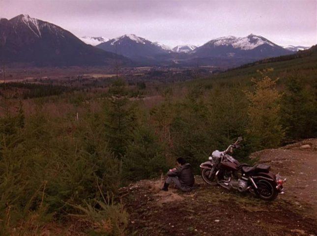 twin peaks outdoor shot