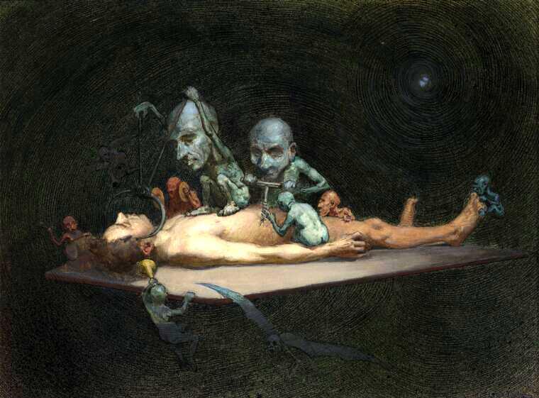 horror art series
